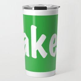 Baked Travel Mug