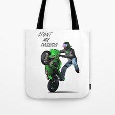 Stunt My Passion Tote Bag