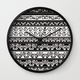 Lace Boarder Wall Clock