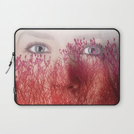 Woman's Face and nature.  Laptop Sleeve