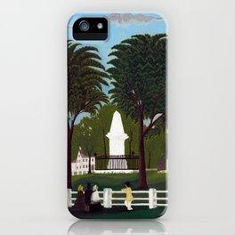 Lexington Battle Monument iPhone Case