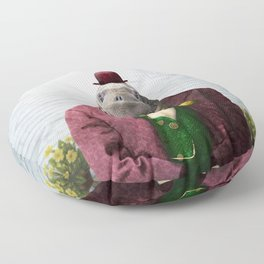 Portrait of Wendell Walrus Floor Pillow