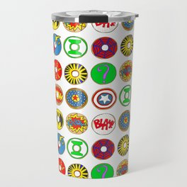Superhero Donuts Travel Mug