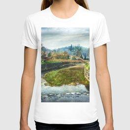 The river Sella and a bridge T-shirt