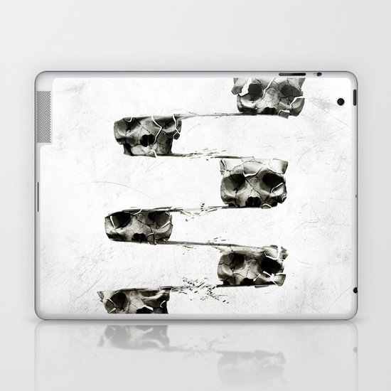SKULL 3 Laptop & iPad Skin