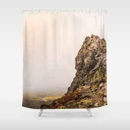 Behind The Clouds Shower Curtain