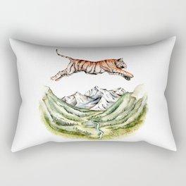 Tiger Leaping Gorge Rectangular Pillow