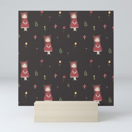 Little Red Riding Hood Mini Art Print