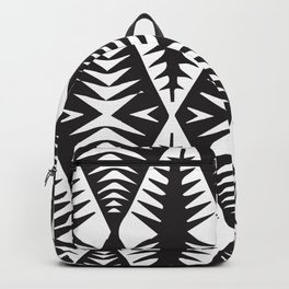 African Tribal Pattern No. 132 Backpack