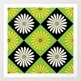 90s Daisy Argyle Art Print