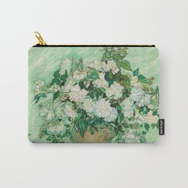 Vase with Roses Carry-All Pouch