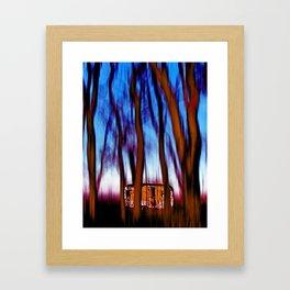 Little sweet home 1 Framed Art Print