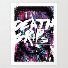 Death Grips Art Print