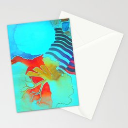 Oceans Two Stationery Cards