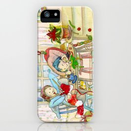 CREATIVE CHRISTMAS 2014 iPhone Case