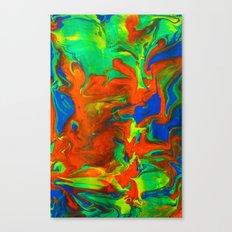 Gravity Painting 14 Canvas Print