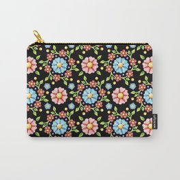 Millefiori Pinwheel Pattern Carry-All Pouch