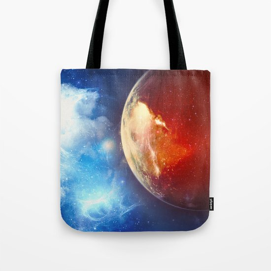 Sunsets on Mars are Blue Tote Bag