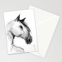 Horse (a head) Stationery Cards