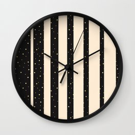 Let it golden snow Wall Clock
