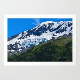 Whittier Glacier - 3 Art Print