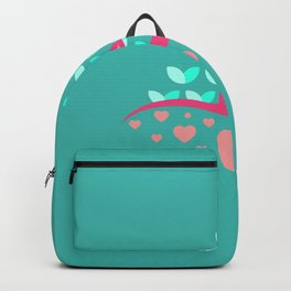 Be Beautiful - Be Colourful Peacock Backpack