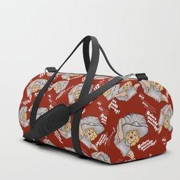 Hello Carol Duffle Bag