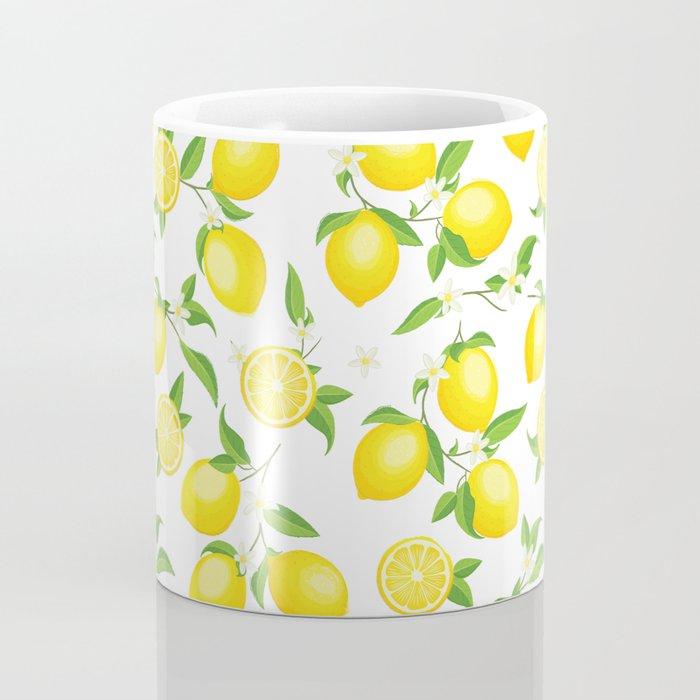 You're the Zest - Lemons on White Coffee Mug