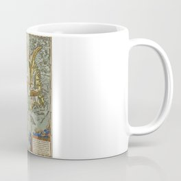 Iceland Map 1590 Coffee Mug
