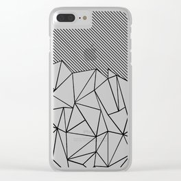 Ab Lines 45 Clear iPhone Case