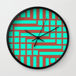 Shapes 017 Wall Clock