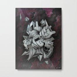 Chaotic Disorders III Metal Print
