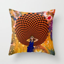 Confusion by Michael Moffa Throw Pillow
