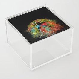 Colorful Mess Acrylic Box