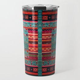 Anthropologie Ortiental Traditional Moroccan Style Artwork Travel Mug