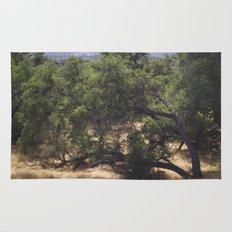 Tree Growing Sideways Rug