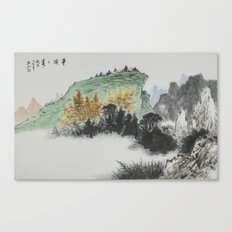 Spring of Pin-Din Canvas Print