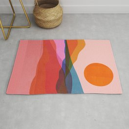 Abstraction_OCEAN_Beach_Minimalism_001 Rug