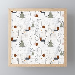 A very merry Christmas mingle Framed Mini Art Print