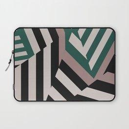 ASDIC/SONAR Dazzle Camouflage Graphic Design Laptop Sleeve