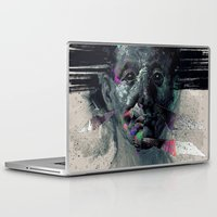 horror Laptop & iPad Skins featuring HORROR VACUI by xxss