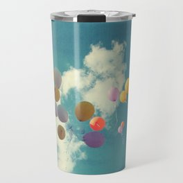 Messages in the Sky Travel Mug