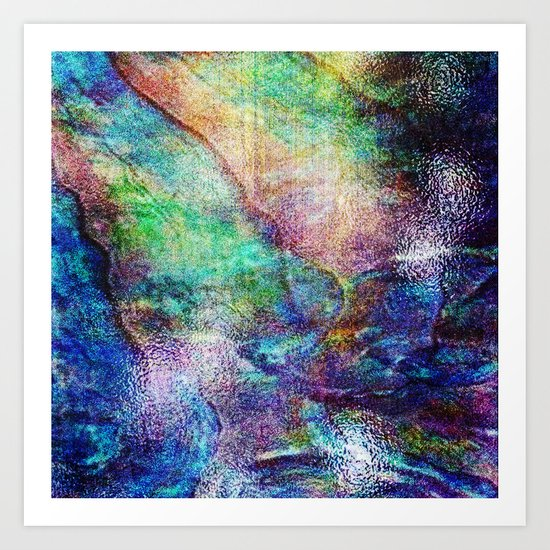 Mermaid Sea Ocean Shell Art Print