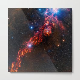 Cosmic Couds in the Orion Nebula Metal Print