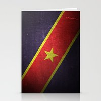 flag Stationery Cards featuring Flag by Steven Overturf
