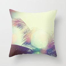 Good bye summer 1 Throw Pillow