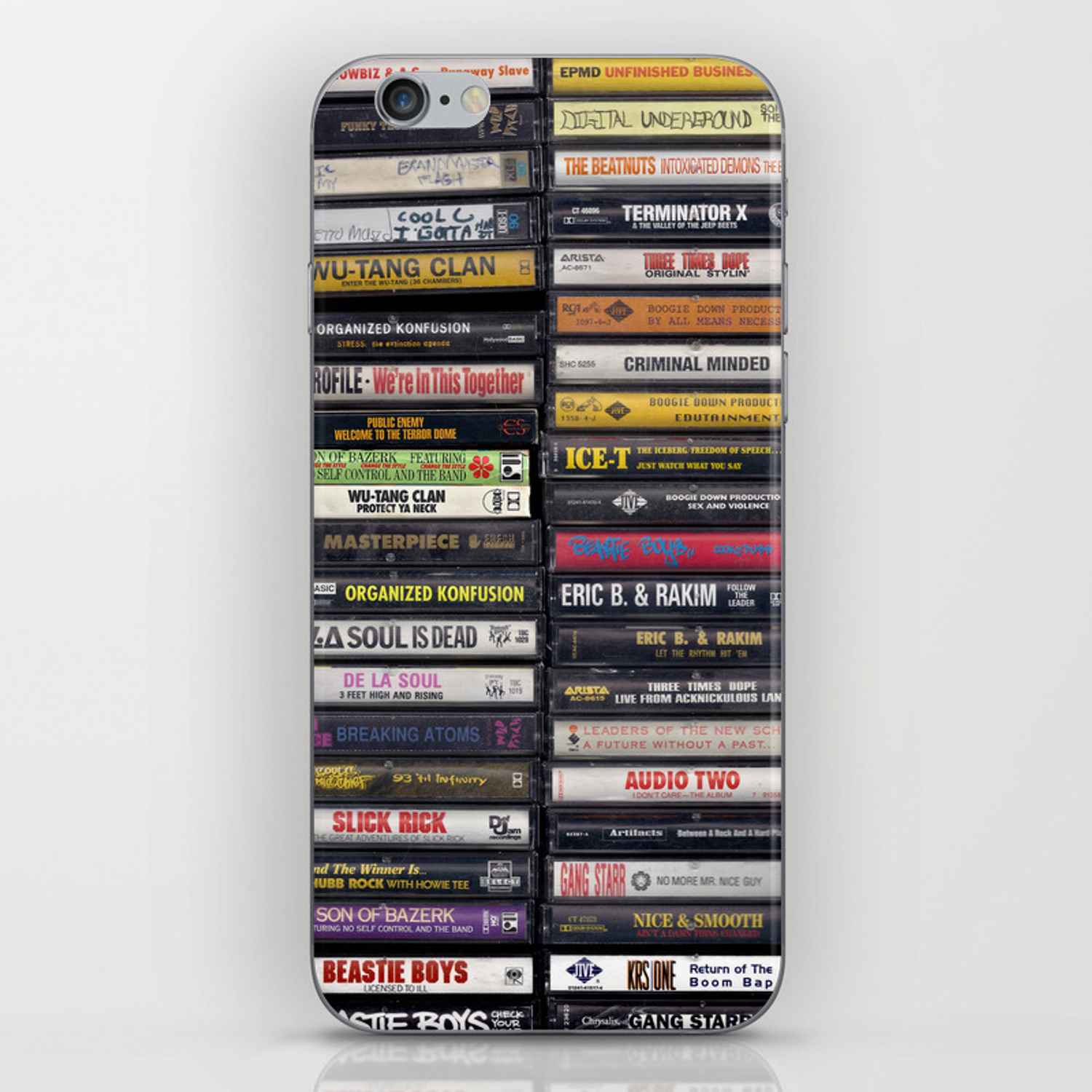 The Beasties Under My Bed iphone case