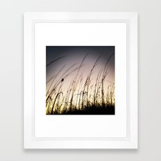 Sunset on Tybee Framed Art Print