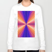 channel Long Sleeve T-shirts featuring The Light Channel by Art-Motiva