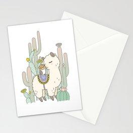 Alpaca Kiss Stationery Cards